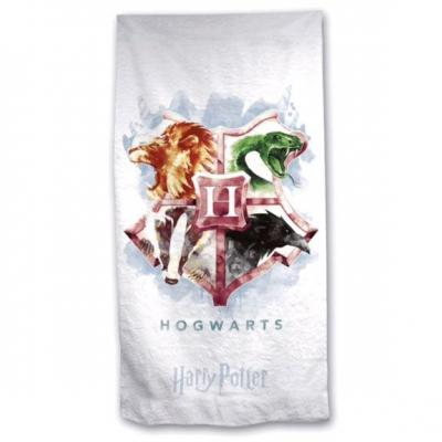 Serviette de plage hogwarts harry potter