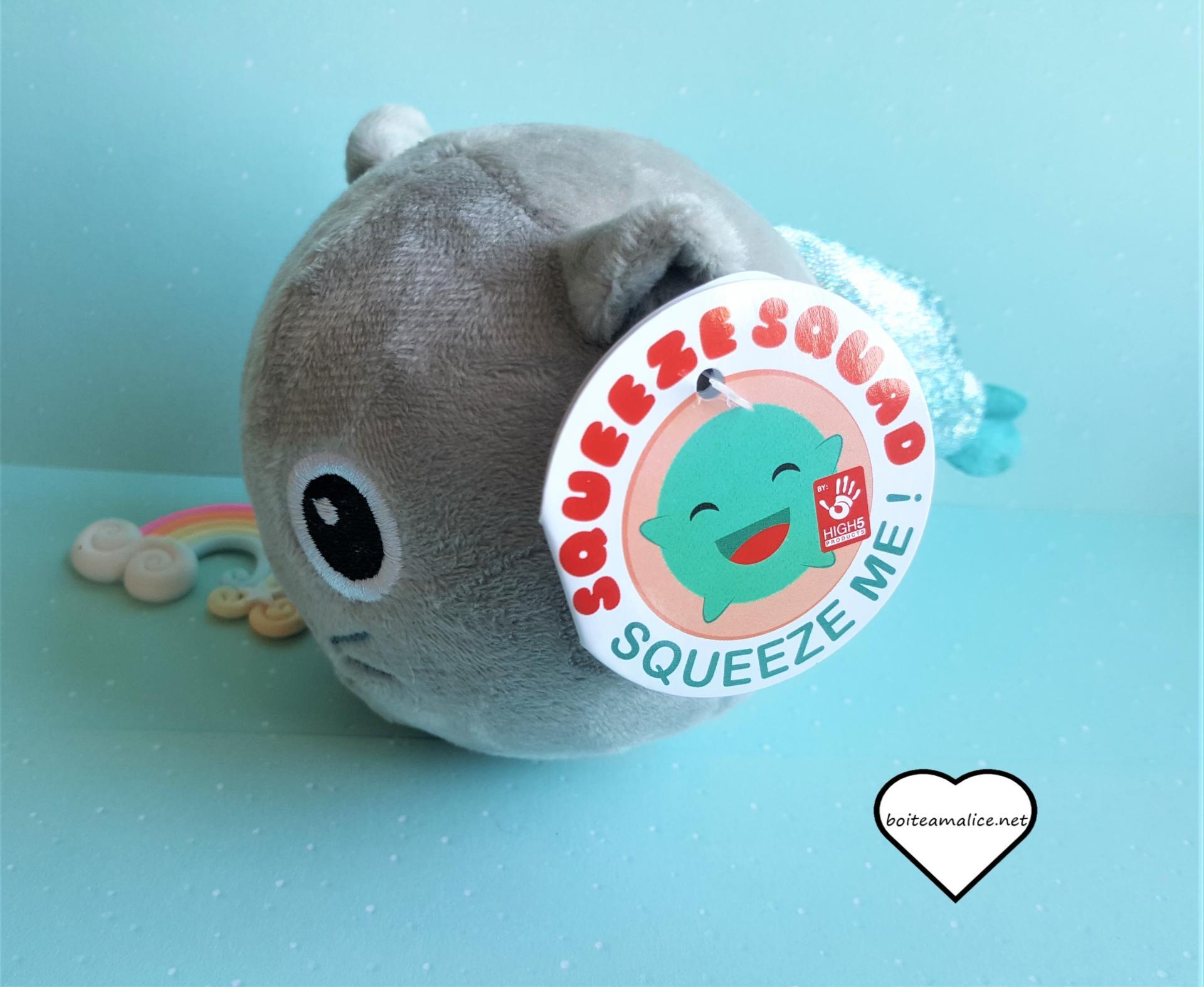 Squichy peluche chat kawaii