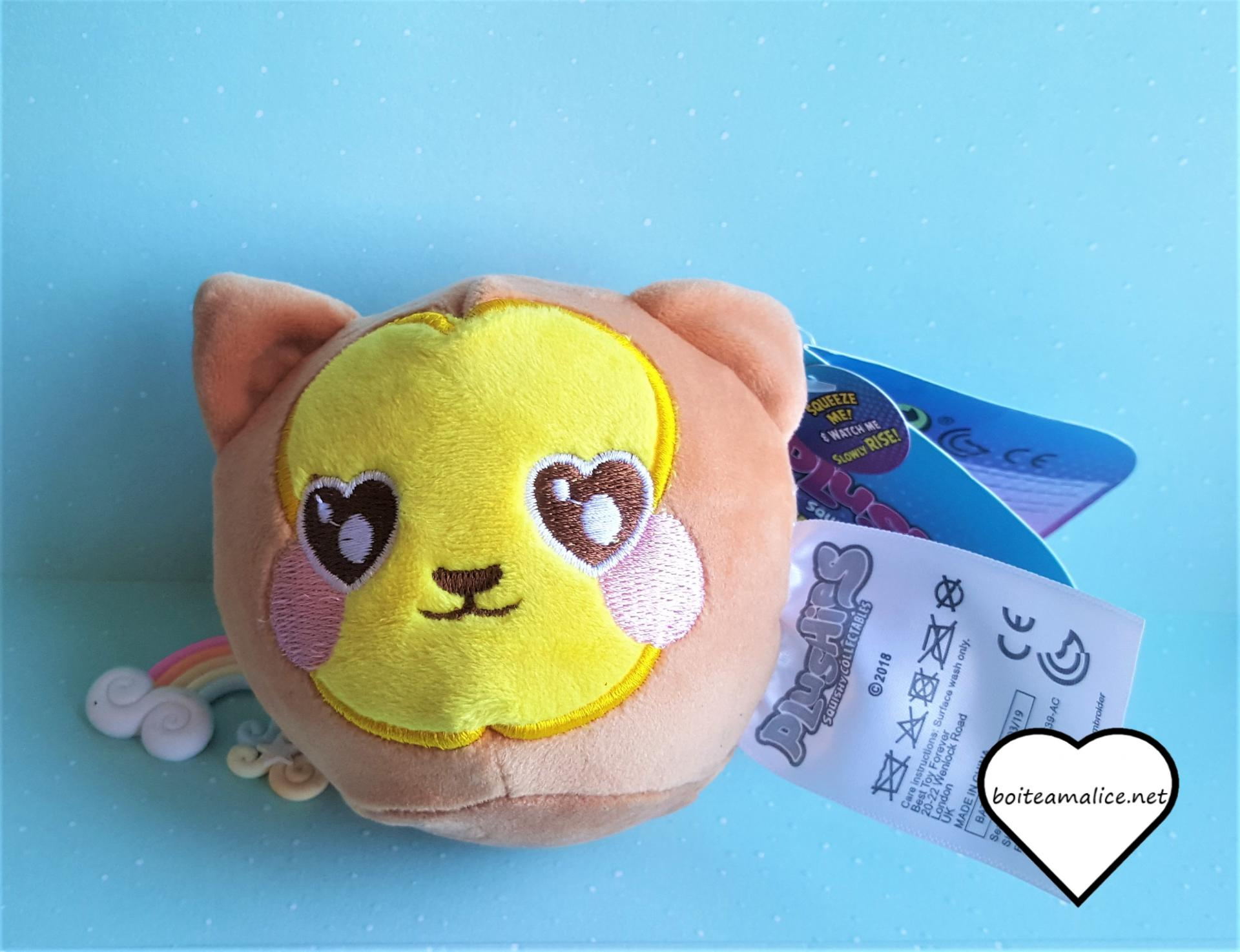 Squichy plushies peluche collection 1