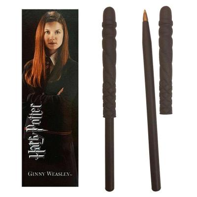 Stylo ginny weasley et marque page harry potter