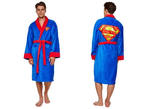 Superman robe de chambre