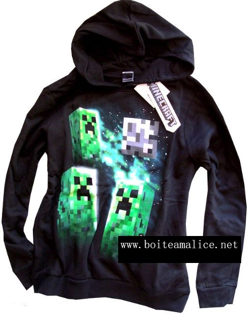 Sweat minecraft enfant