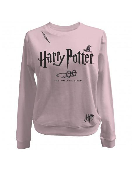 Sweat shirt femme harry potter the boy who lived