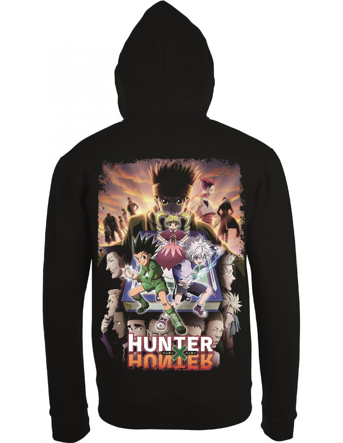 Sweat shirt hunter x hunter poster verso