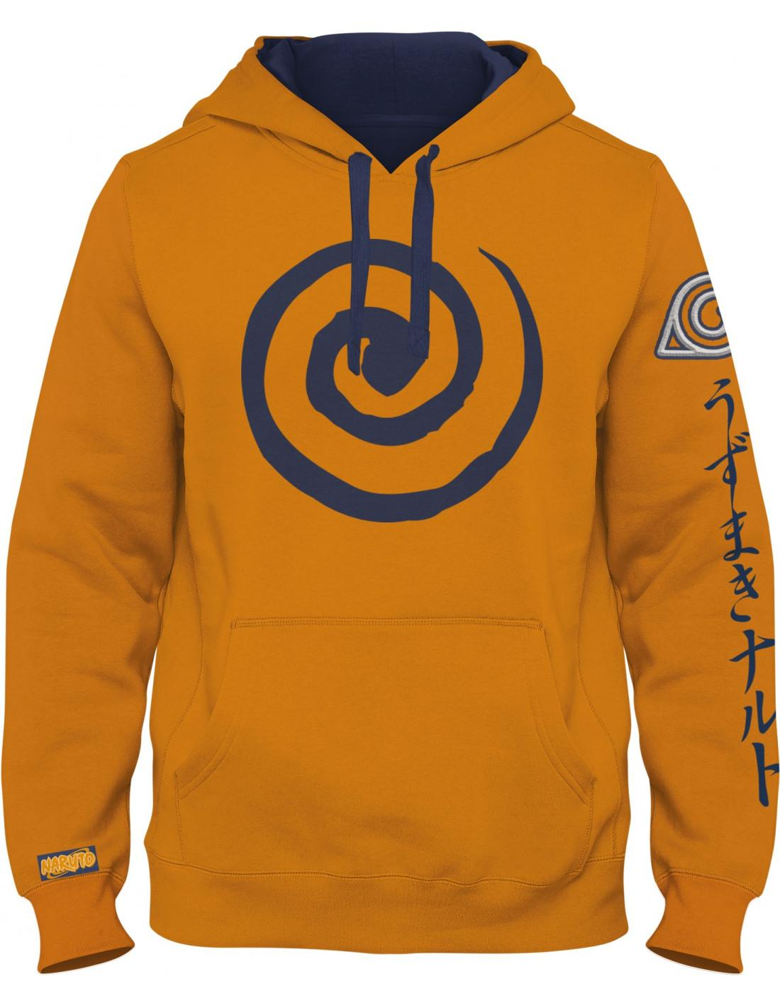 Sweat shirt naruto naruto logo