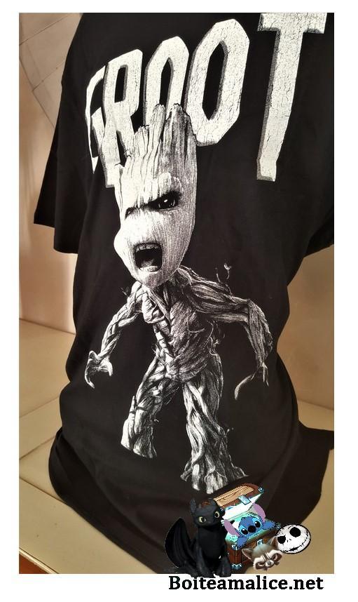 T shirt anger groot