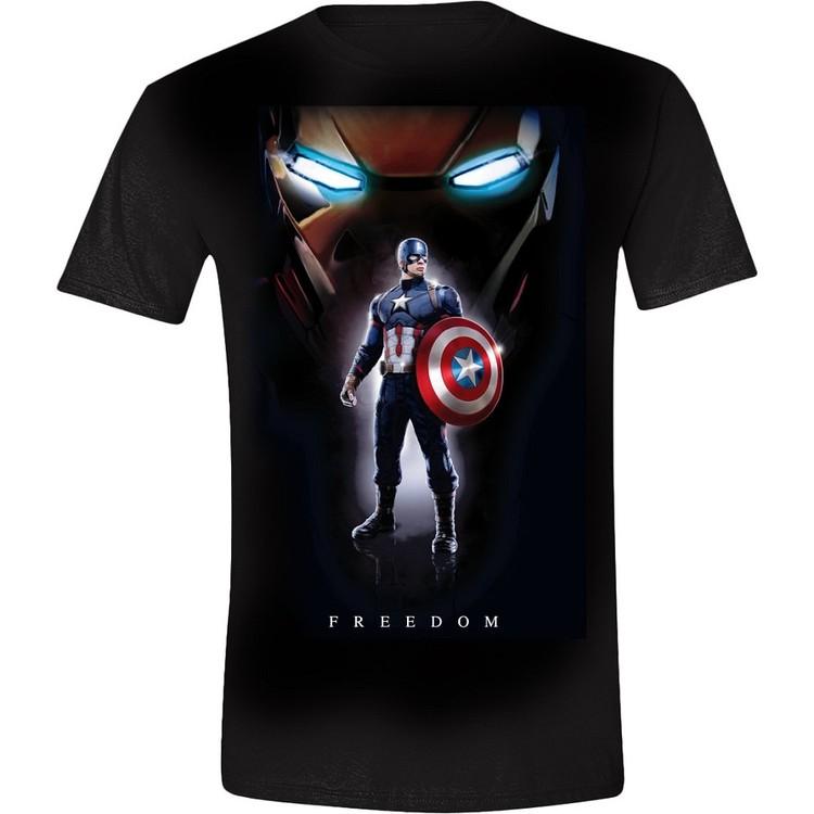 T shirt captain america freedom 1