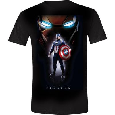 T shirt Captain America Freedom