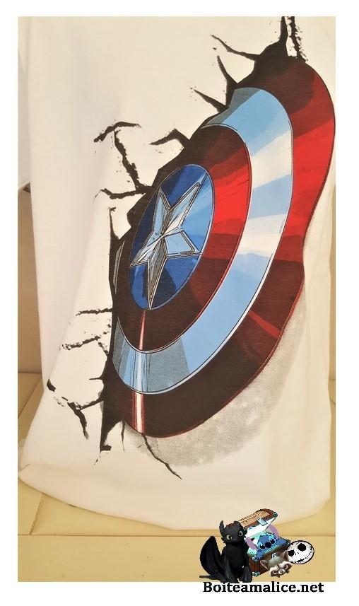 T shirt captain america marvel
