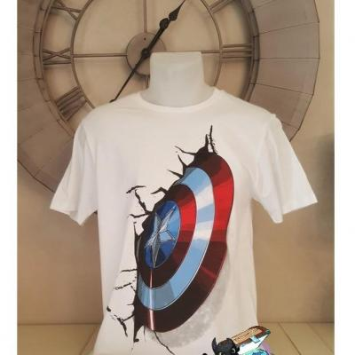 T shirt captain america