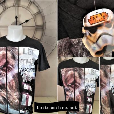 T shirt chewbacca star wars