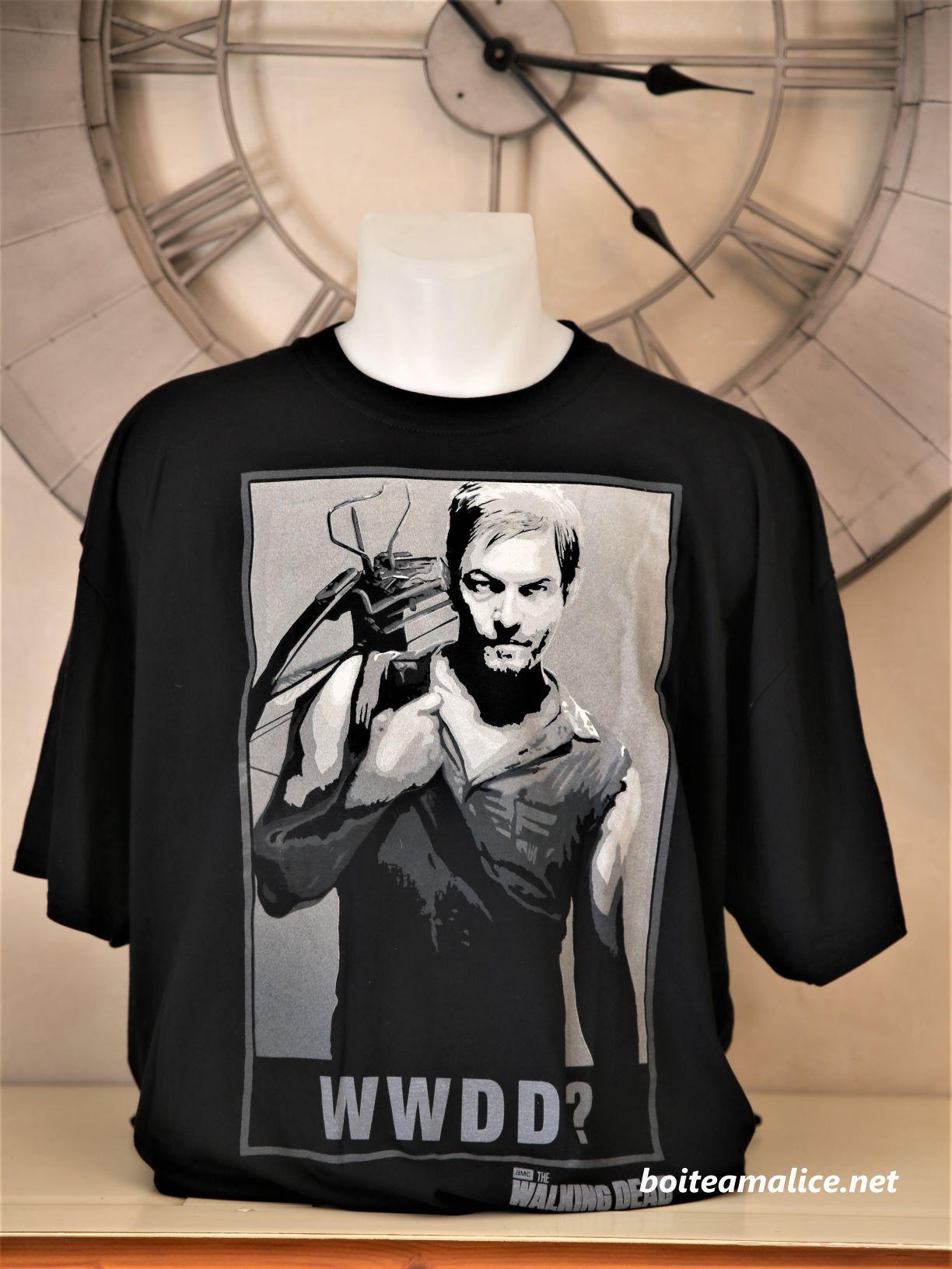 T shirt daryl walking dead 2