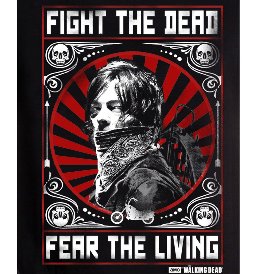 T shirt daryl walking dead