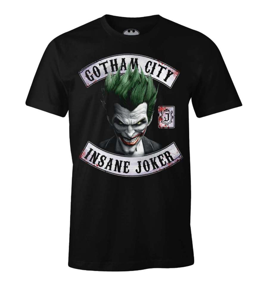 T shirt dc comics the joker insane joker