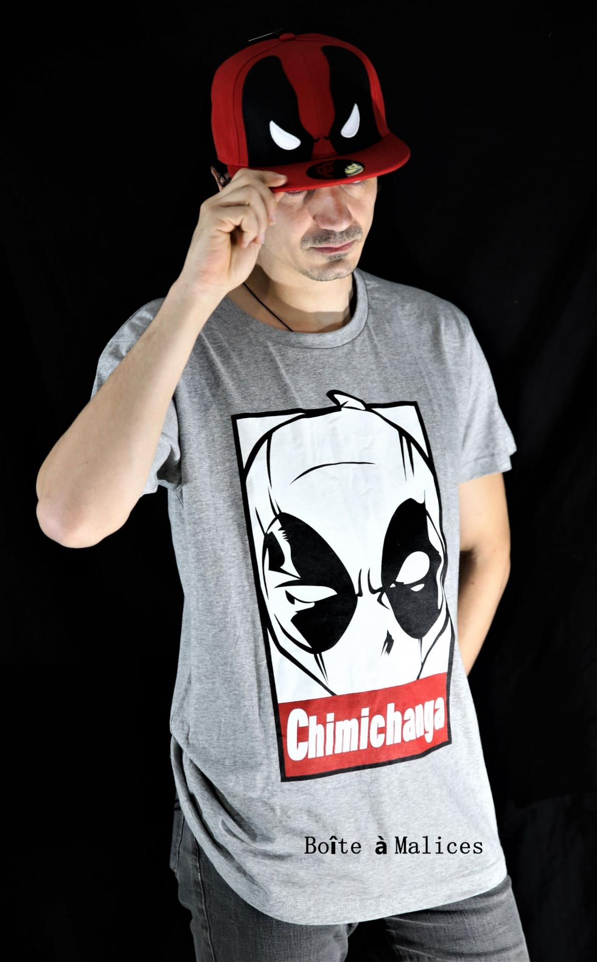 T shirt deadpool chimichanga 2