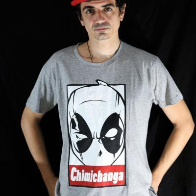 T shirt deadpool chimichanga