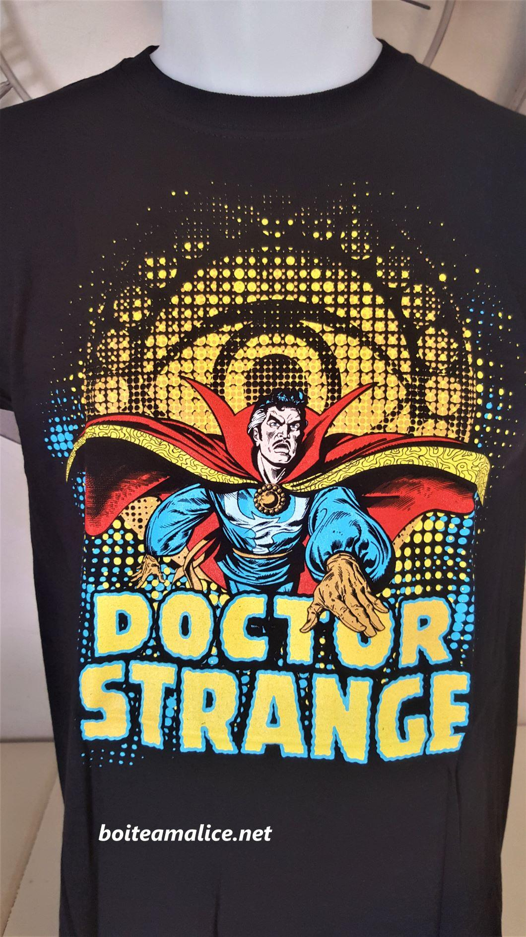 T shirt dr strange marvel comics homme 1