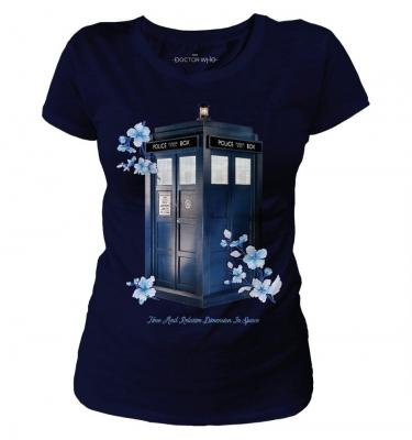 T shirt femme dr who tardis