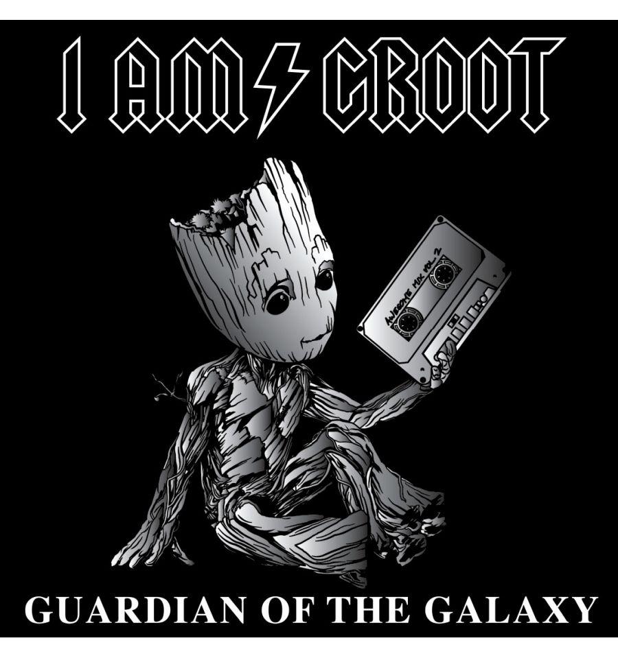 T shirt femme groot gardiens de la galaxie 1