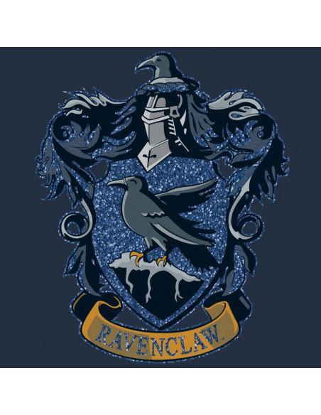 T shirt femme harry potter ravenclaw blue glitter 1