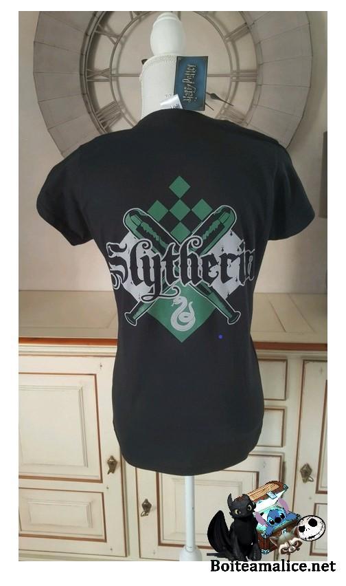 T shirt femme serpentard 1