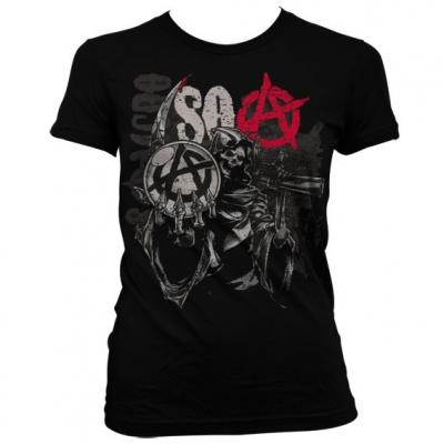 T shirt femme sons of anarchy glorious