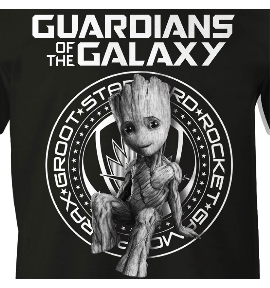 T shirt gardiens de la galaxie vol 2 marvel groot guardian galaxy