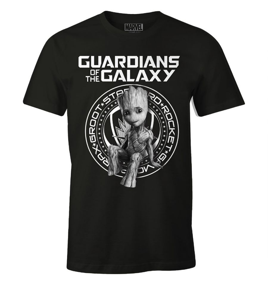 T shirt gardiens de la galaxie vol 2 marvel groot guardian