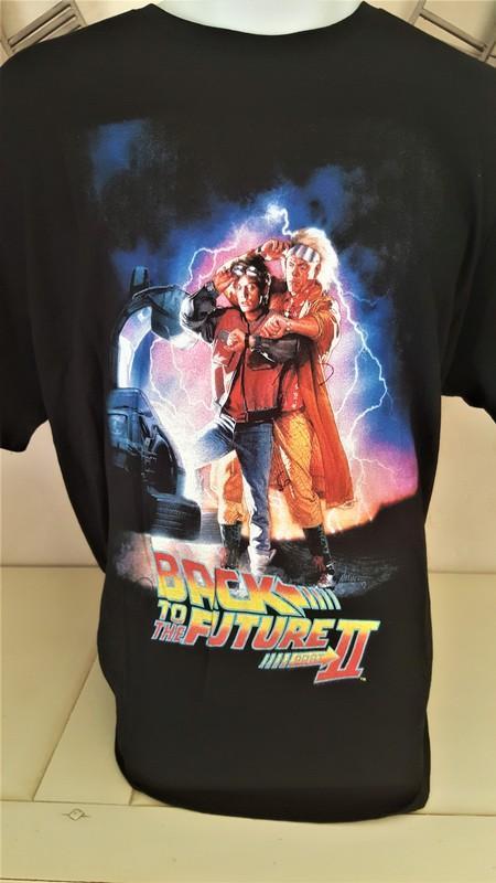 T shirt geek retour vers le futur