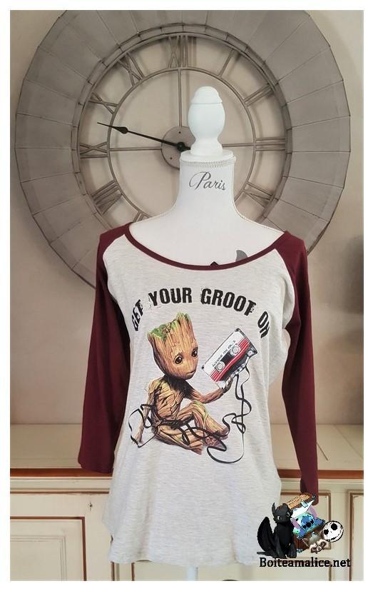 T shirt groot femme 1