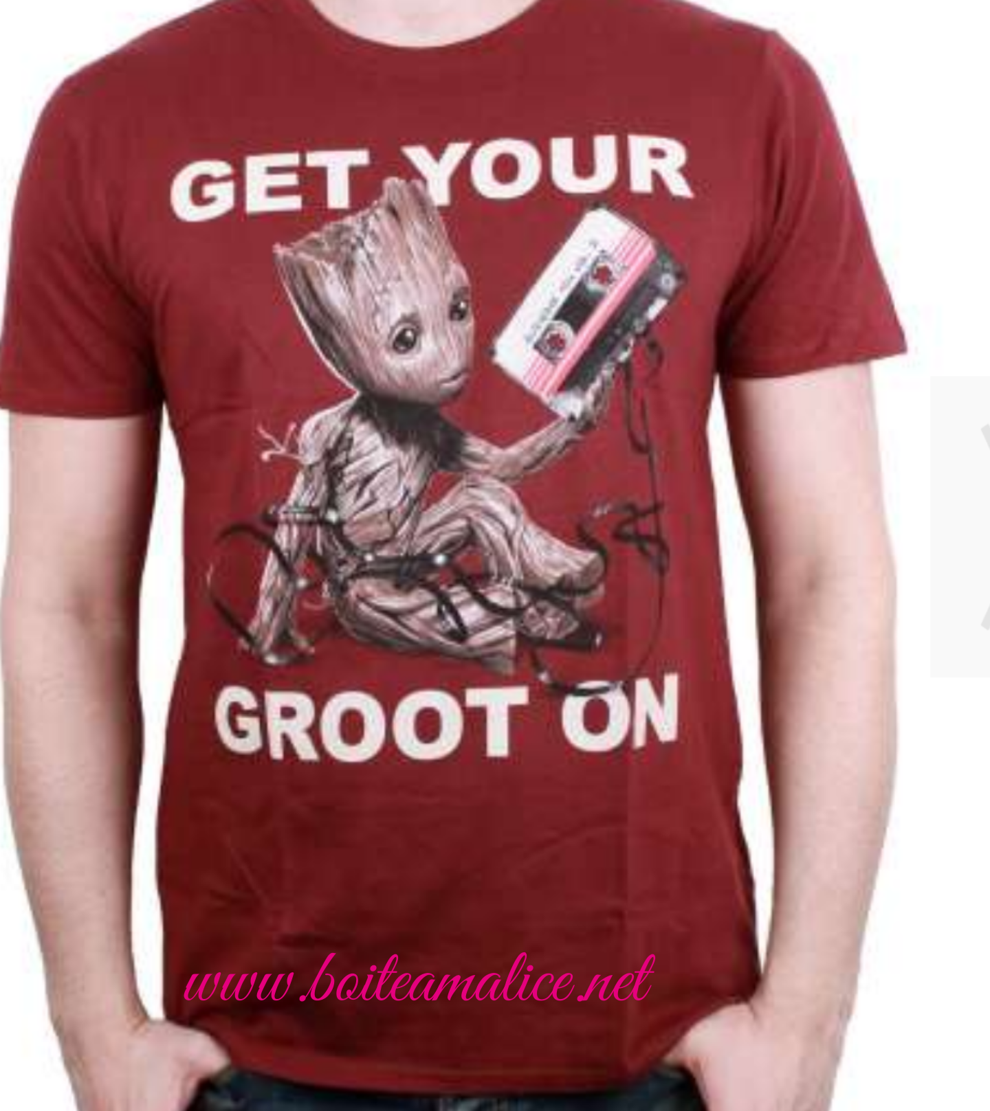 T shirt groot homme