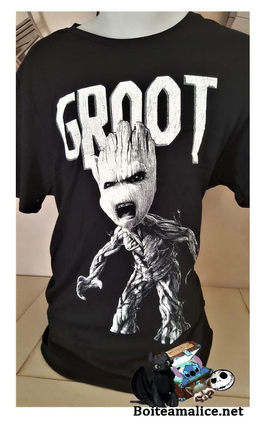 T shirt groot marvel