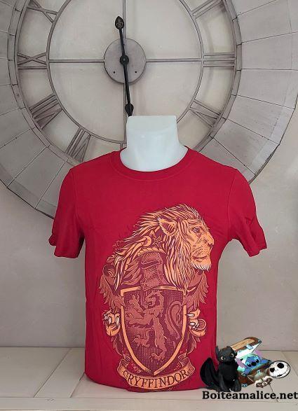 T shirt gryffondor 2