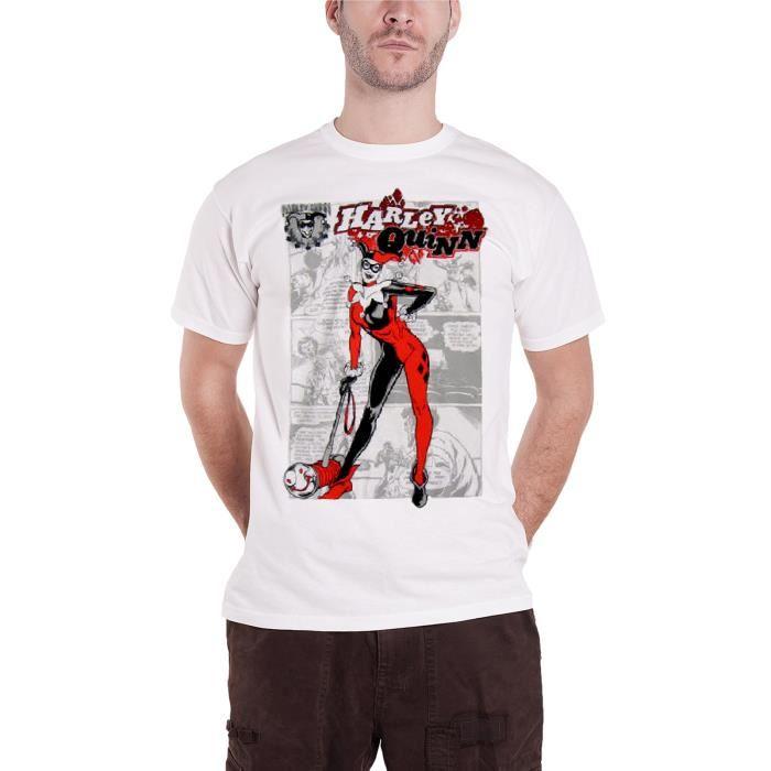 T shirt harley quinn comics