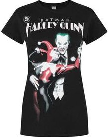 T shirt harley quinn jocker batman 1