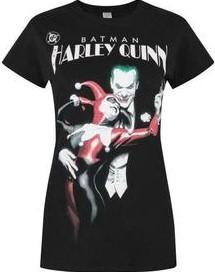 T shirt harley quinn jocker batman
