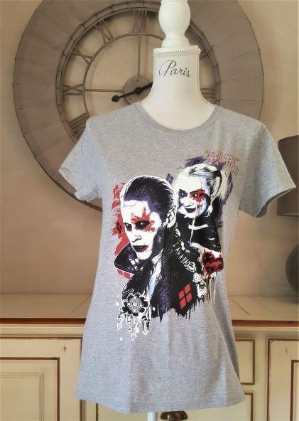 T shirt harley quinn joker 1