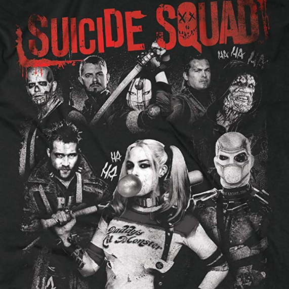 T shirt harley quinn personnage suicide squad
