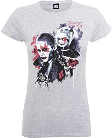 T shirt harley quinn puddin ladies