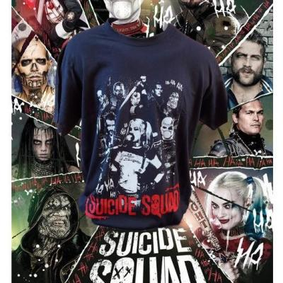 T shirt harley quinn quicide squad