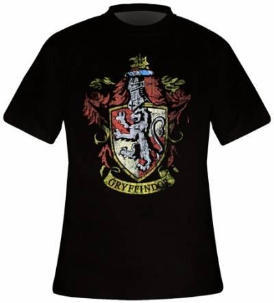 T shirt harry potter film homme gyffindor crest gryffondor poudlard