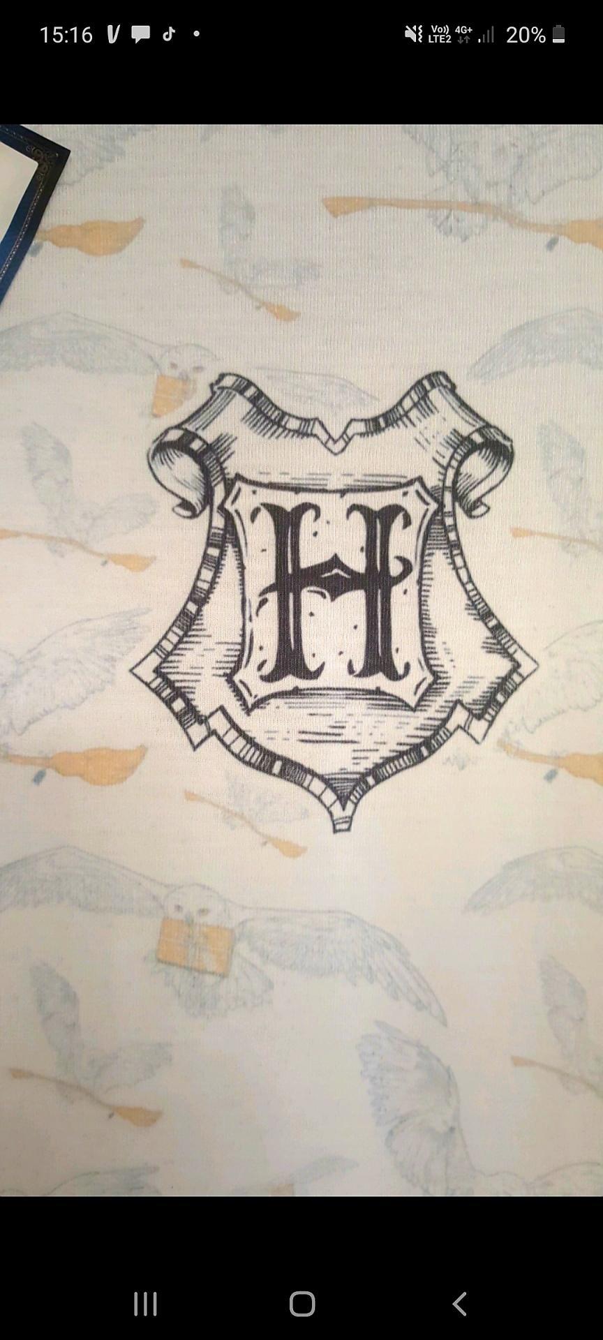 T shirt harry potter hedwig