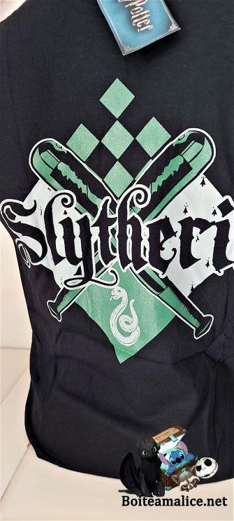 T shirt harry potter serpentard 2