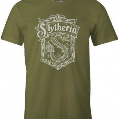 T shirt harry potter serpentard 4