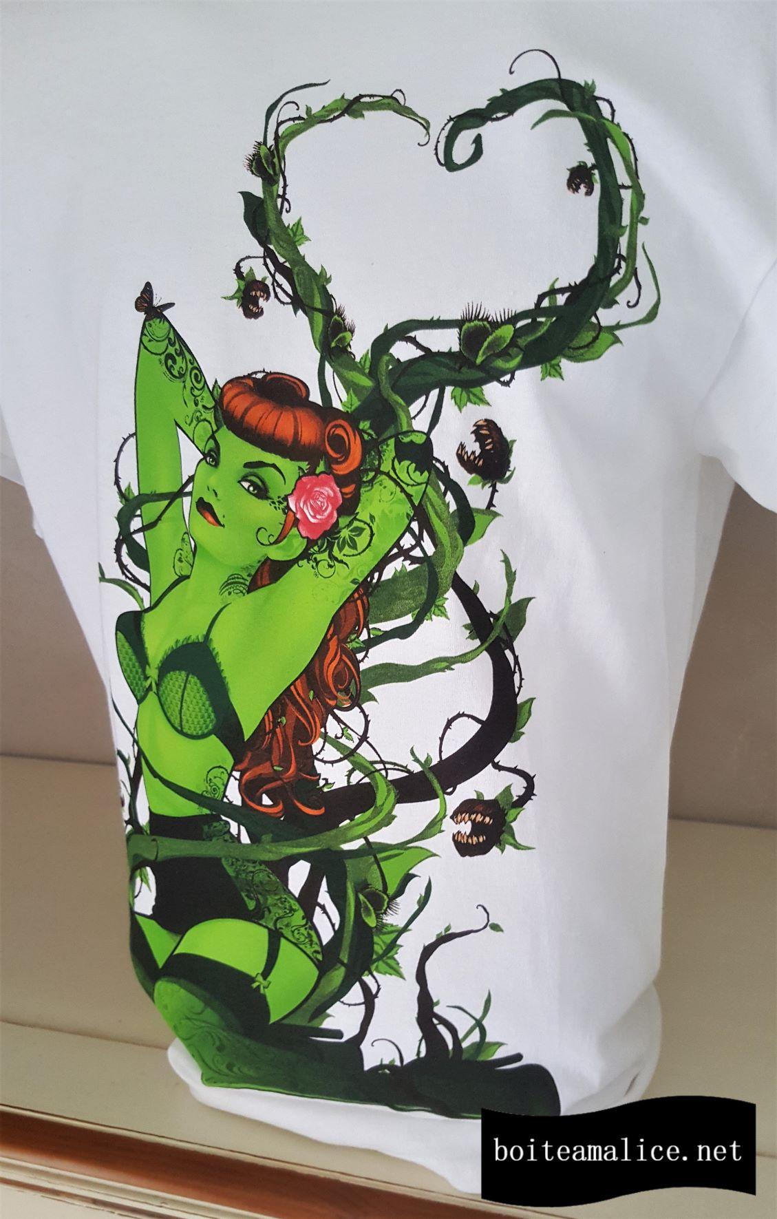 T shirt homme poison ivy