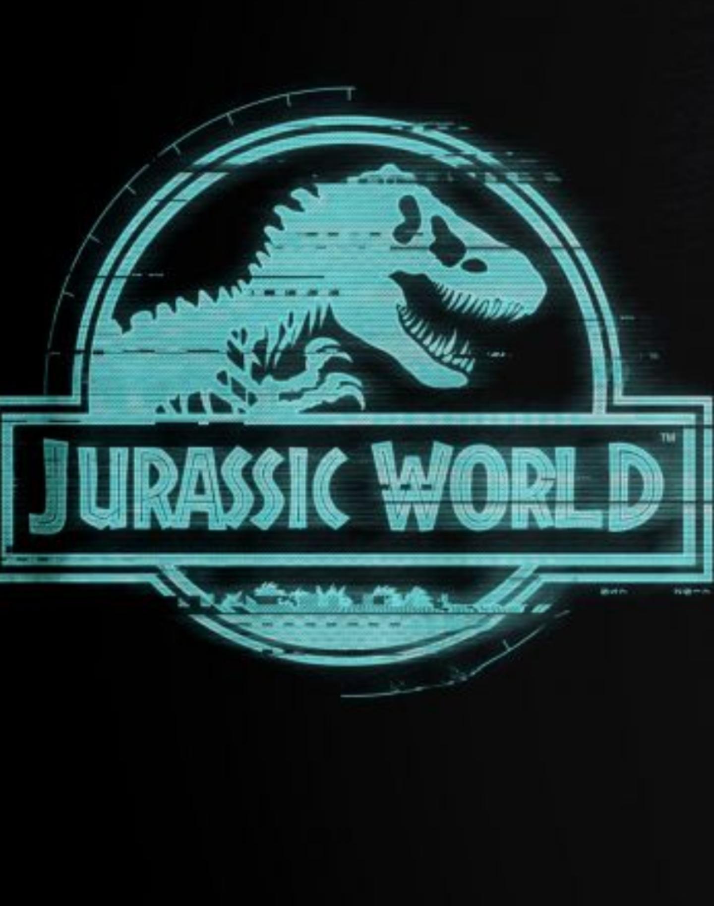 T shirt jurassic parc logo