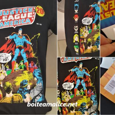 T shirt justice league dc comics