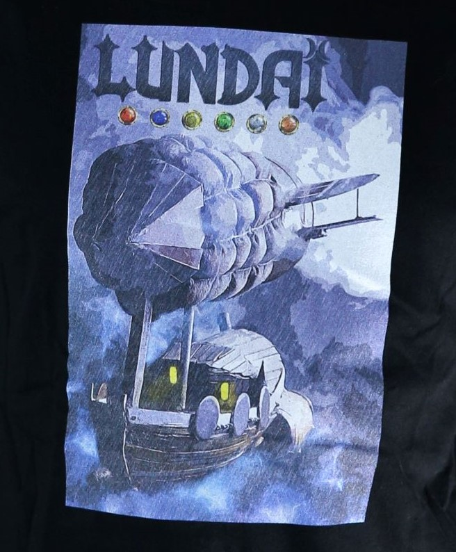 T shirt lundai dirigeable steampunk 1af