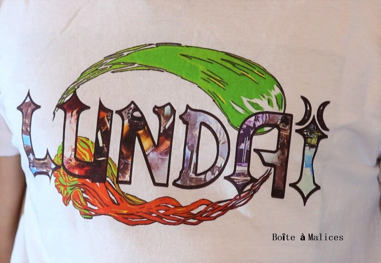 T shirt lundai logo 2
