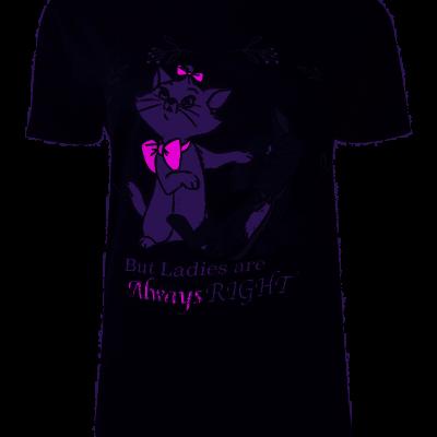 T shirt marie aristochats disney